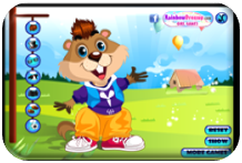http://www.primarygames.com/holidays/groundhog_day/games/cutegroundhog/