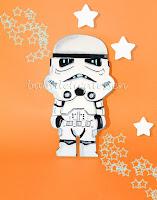 silueta de madera infantil Star Wars Stormtrooper babydelicatessen