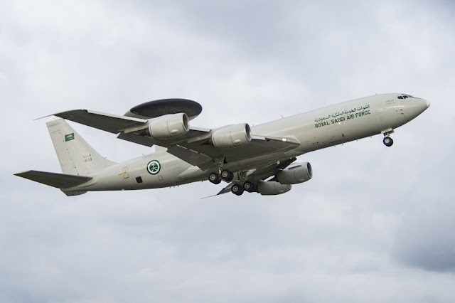 BOEING COMPLETES RADAR UPGRADE FOR SAUDI AWACS