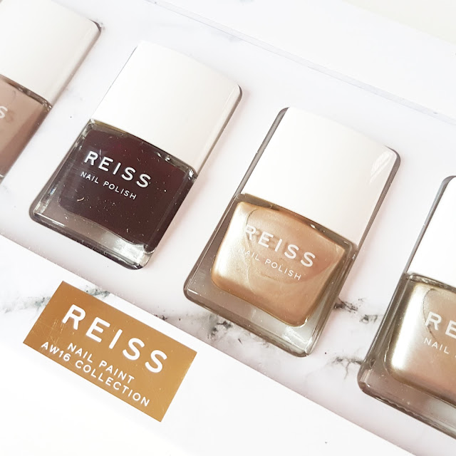 The Reiss Nail Paint WE16 Collection