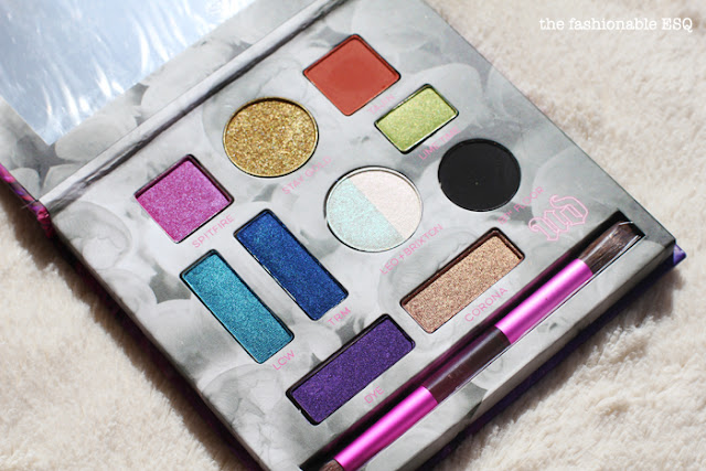 Kristen Leanne x Urban Decay Kaleidescope Eyeshadow Palette swatches