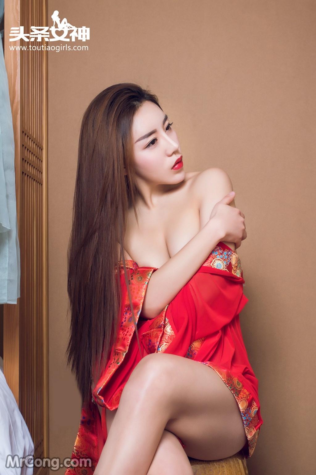 Image MrCong.com-TouTiao-2016-12-16-An-Su-Rui-006 in post TouTiao 2016-12-16: Người mẫu An Su Rui (安苏芮) (27 ảnh)