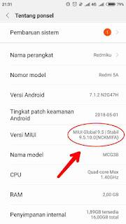 Cek Spesifikasi ROM Xiaomi