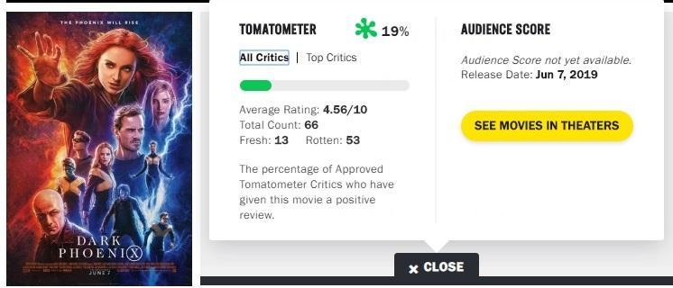 Οι πρώτες κριτικές για το X-Men: Ο Μαύρος Φοίνικας δεν είναι και οι καλύτερες 2