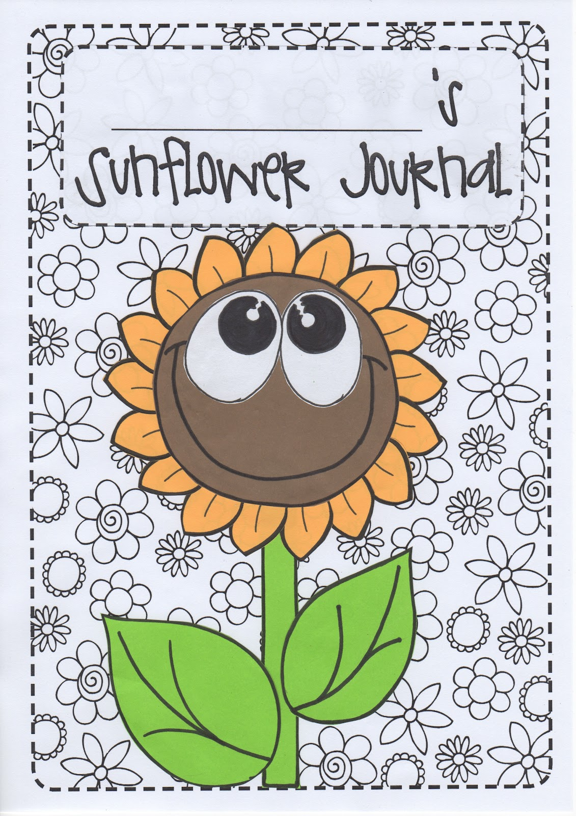 Creative Classroom Sunflower Journals Finding Gratitude Moments Joyfulness And Positivity
