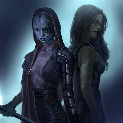 nebula vs gamora origin