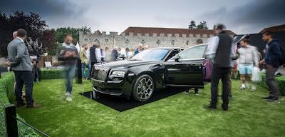 Source: Rolls-Royce Motor Cars. The Rolls-Royce Dawn Black Badge.