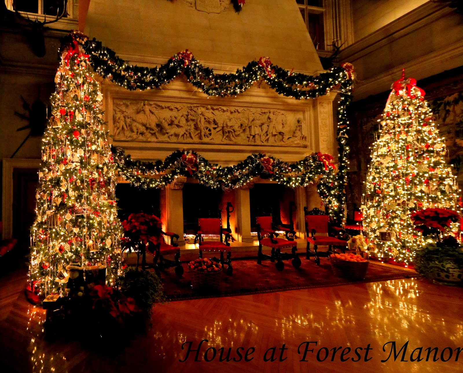 House At Forest Manor Biltmore House 2016 Christmas