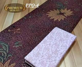 Jual batik printing dengan motif tradisional