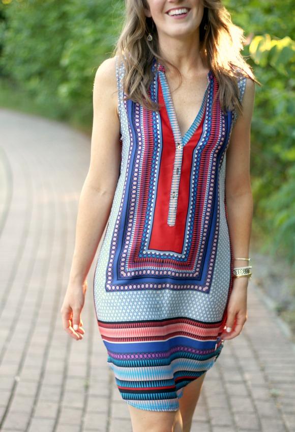 Stitch Fix May Brixon Ivy Fallon V Neck Dress