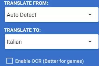 tradurre app in italiano
