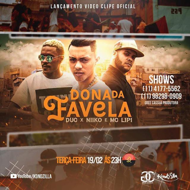 Duc & Niiko & MC Lipi - Dona Da Favela (Remix)
