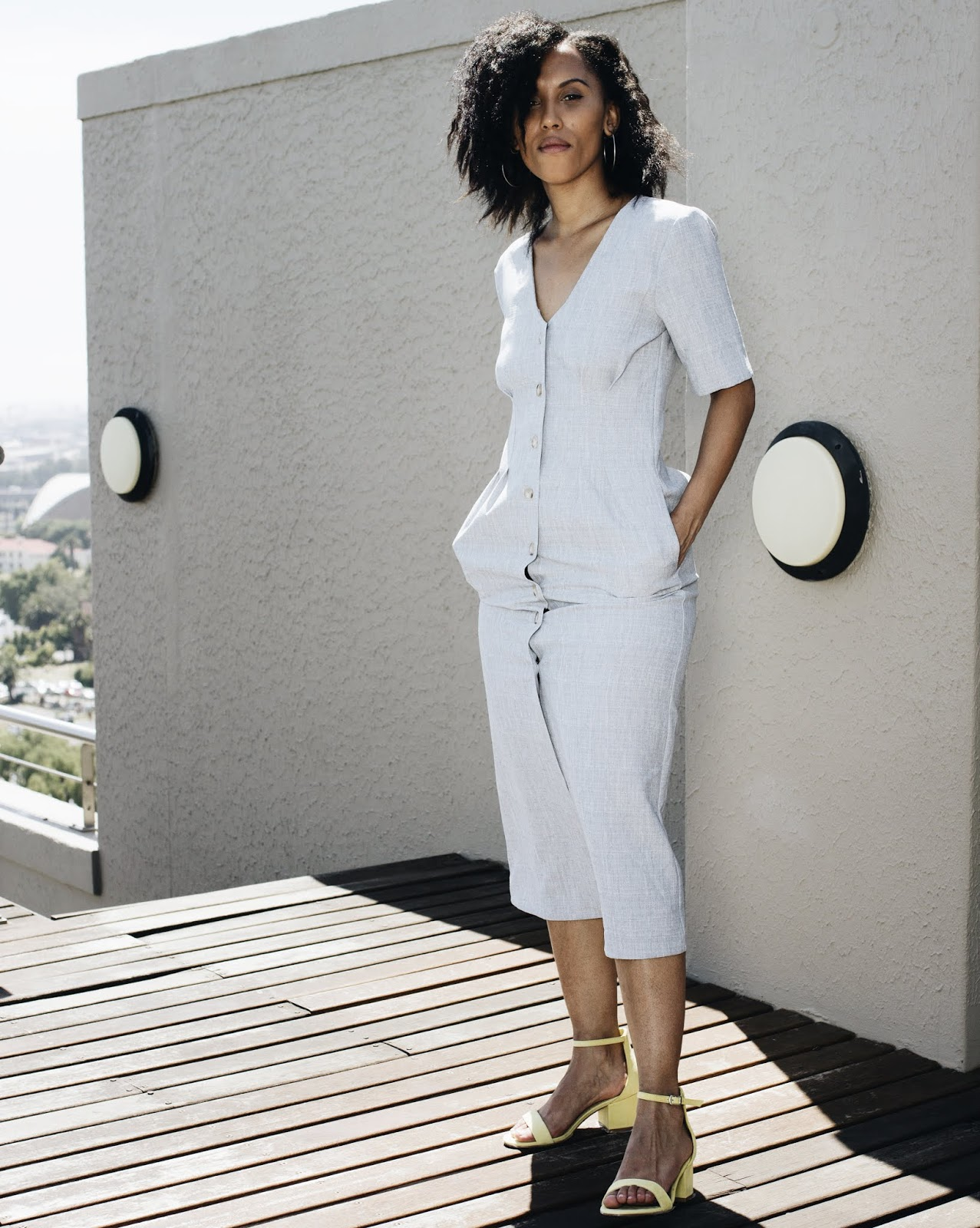 Liezel-Esquire-fashion-blogger-buttoned-down-linen-dress