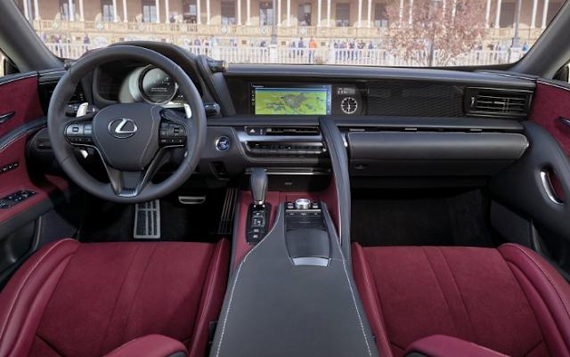 2018 Lexus LC 500h Interior
