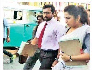 Thaana Serntha Koottam Tamil Movie Working Stills
