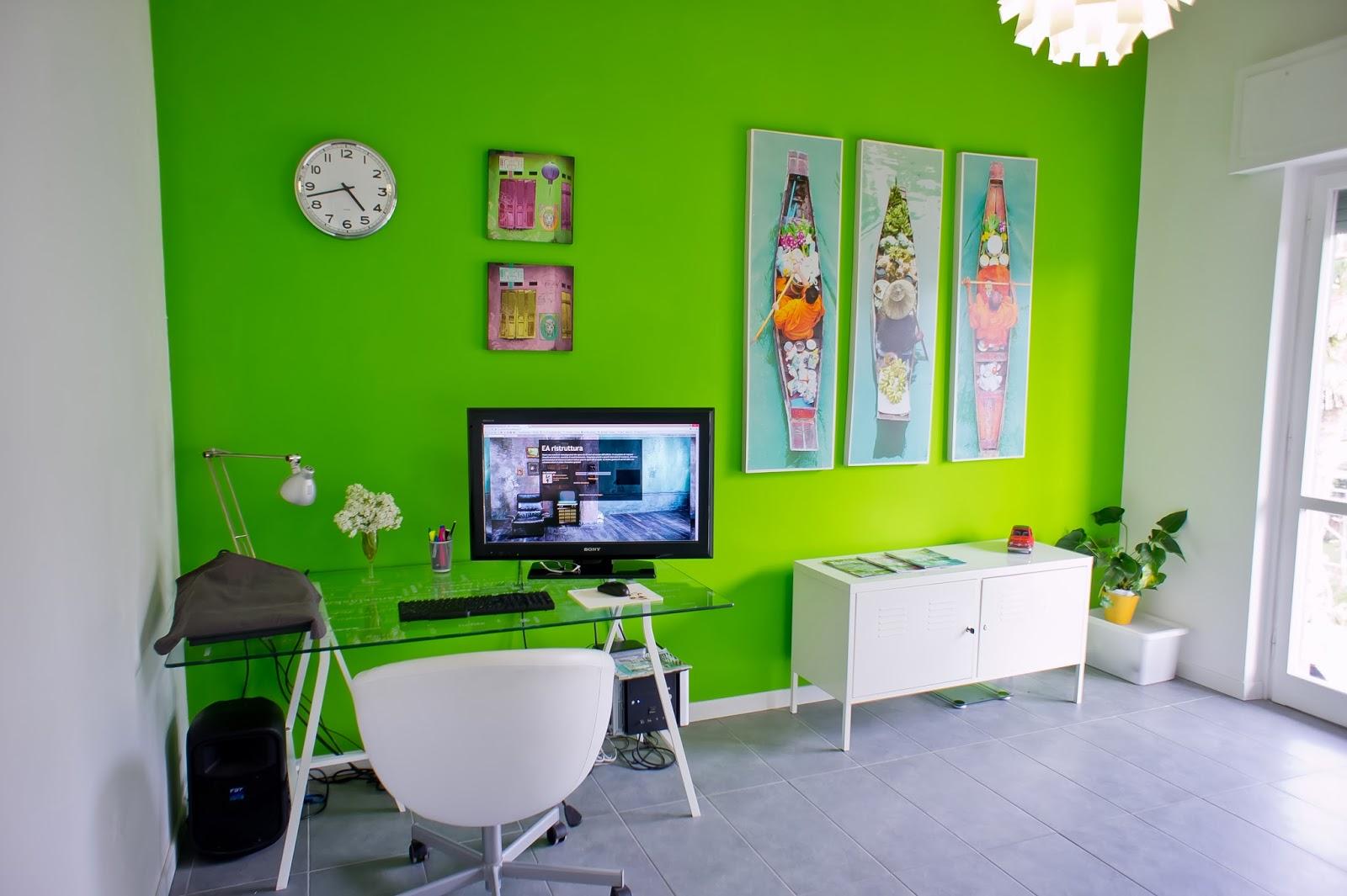Camere Da Letto Verde Acido : Parete cucina verde acido parete rossa cucina trendy cucina bianca