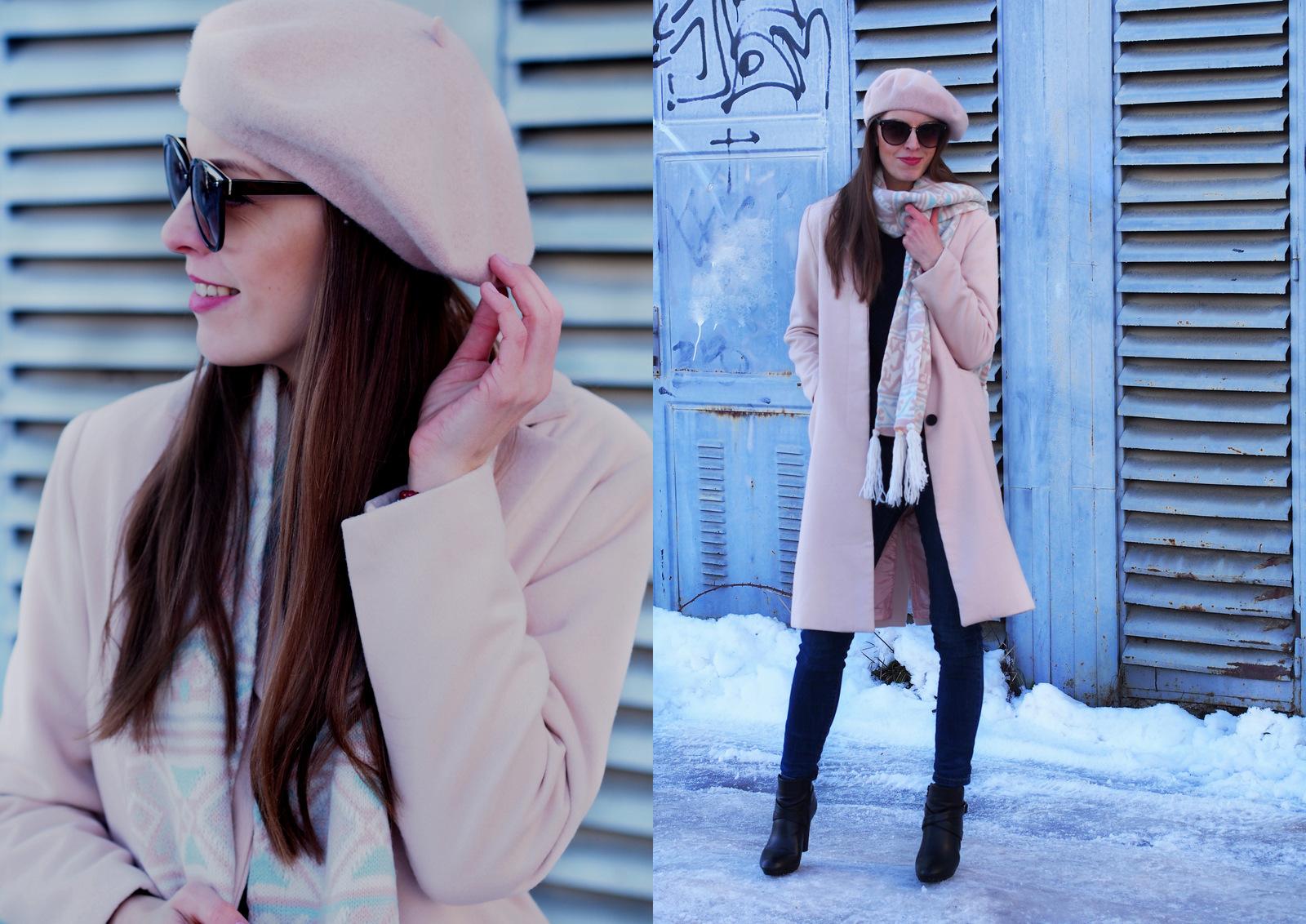 pastelovo ružový outfit