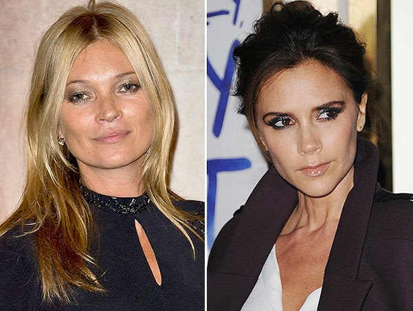 Victoria Beckham and Kate Moss scandale