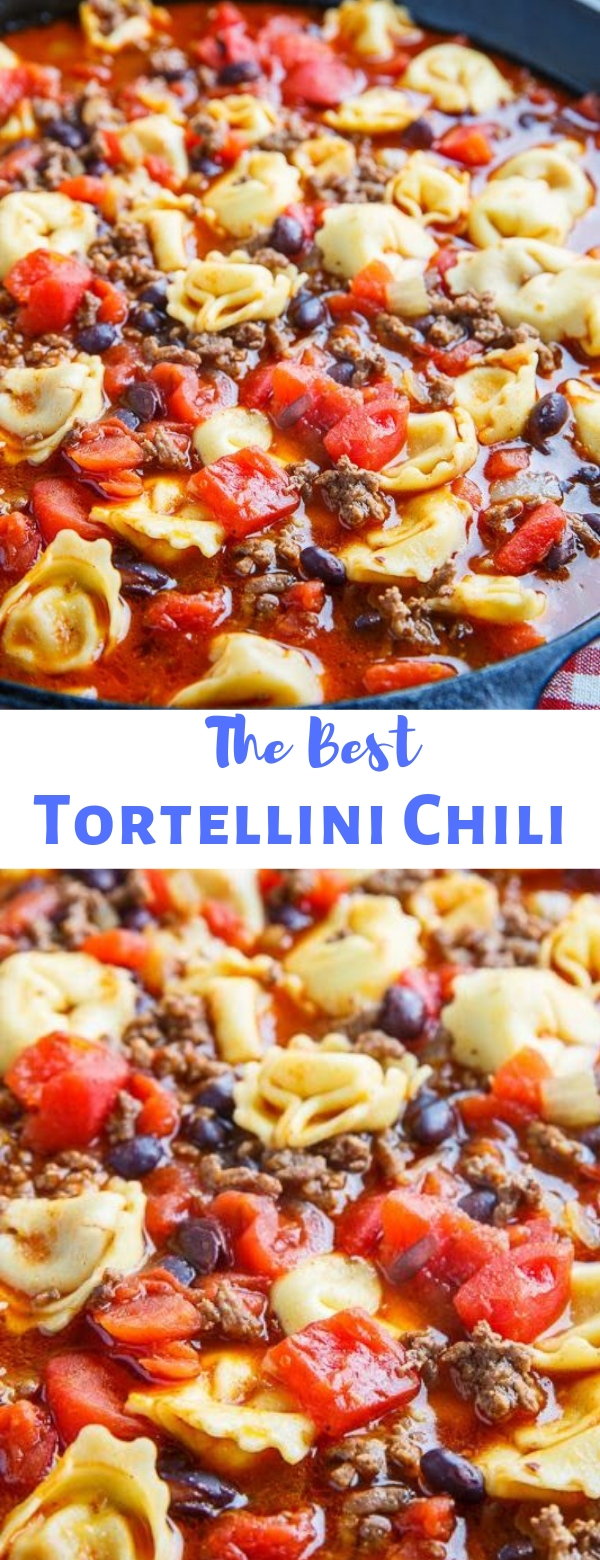 The Best Tortellini Chili