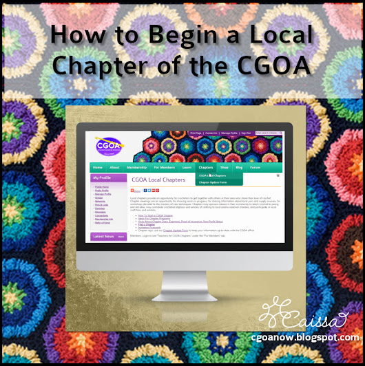 How to Begin a Local Chapter of the #Crochet Guild of America (CGOA)