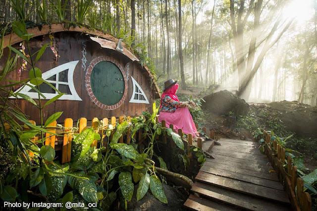 Seribu Batu Songgo Langit, Wisata Hits di Mangunan dengan Spot Selfie Keren