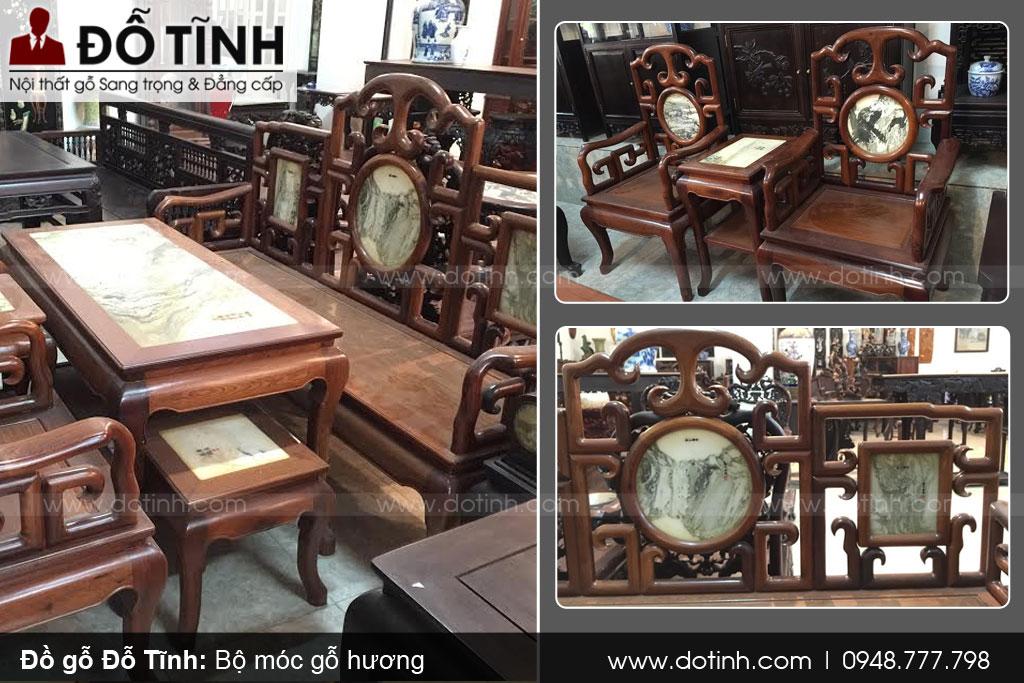 Sản phẩm bàn ghế móc tại Hải Minh, Nam Định