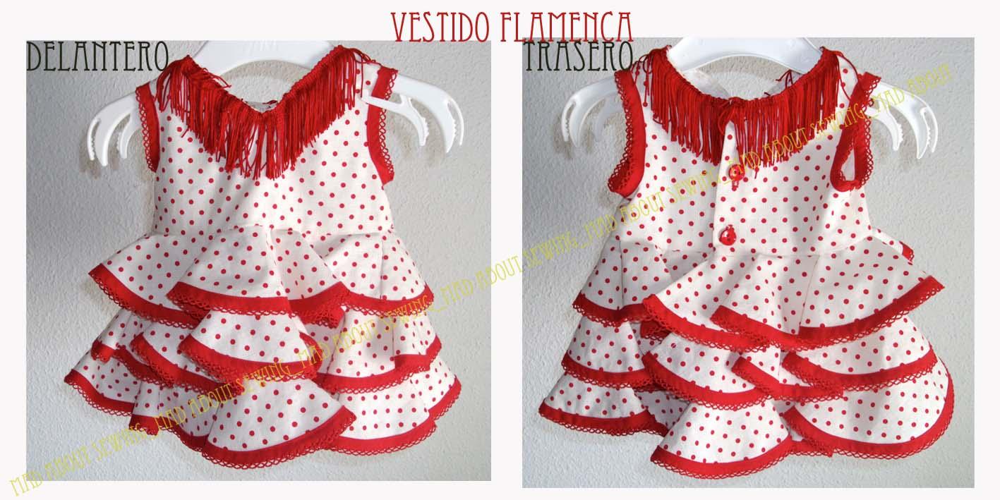MadAboutSewing  Vestido Flamenca (bebé 3 meses) - 1º PARTE- 43746e924fc