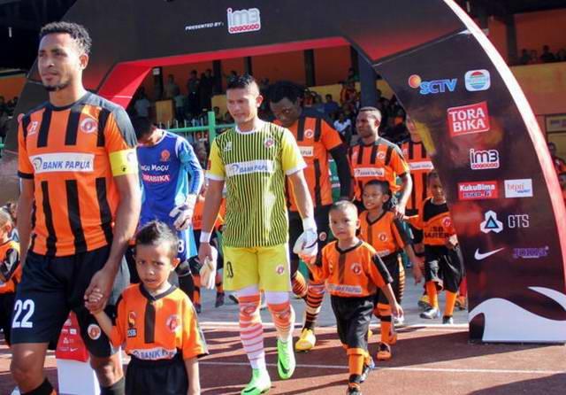 Perseru Serui vs Borneo FC