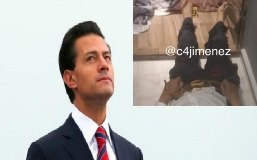 """Arma de EPN fue utilizada por narcos; era una """"matapolicías"""""""