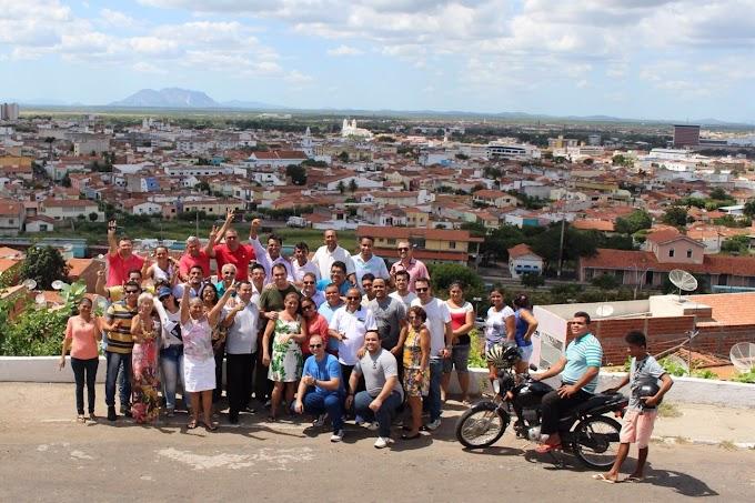 Em Sobral Moses Rodrigues cumpre agenda de reuniões com lideranças e comunidades