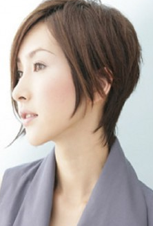 Short Hairstyle Of 2011 Japanese Short Hairstyle 2011