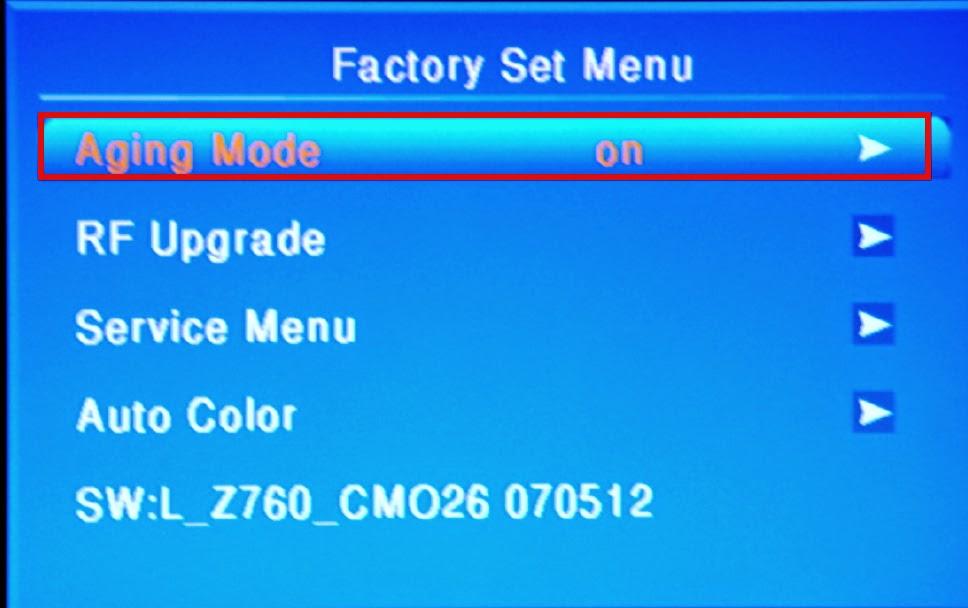 Haier tv software update