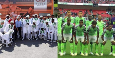 "Super Eagles brings home ""best fashion team"" award from Russia"