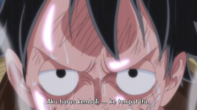 One Piece Episode 822 Subtitle Indonesia