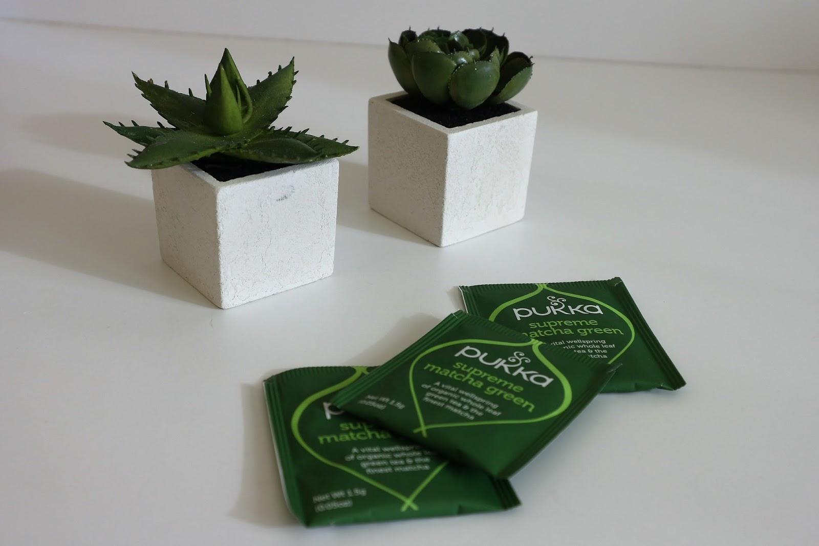 Pukka Matcha tea bags