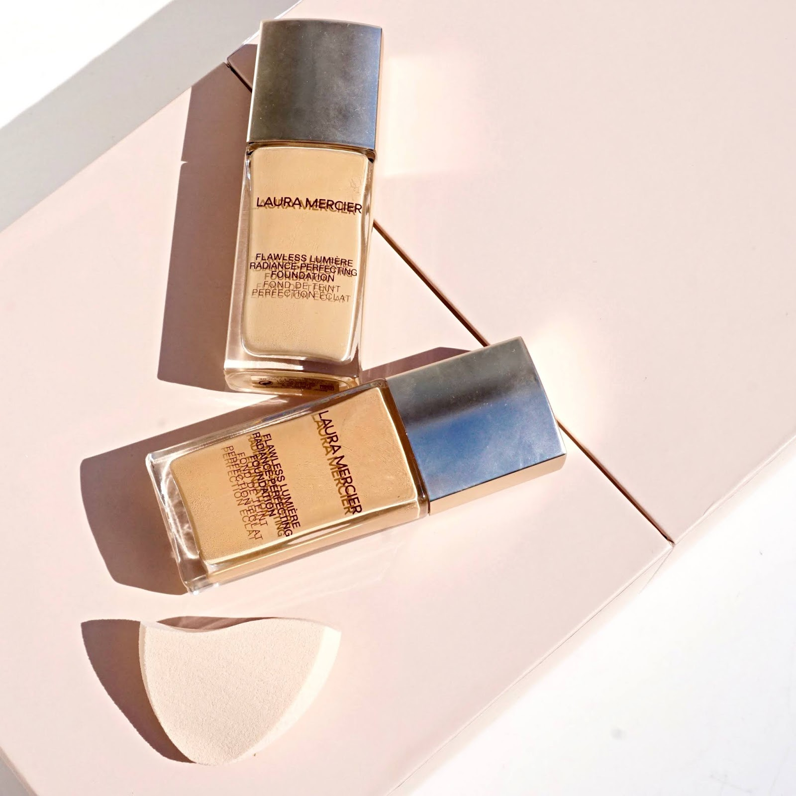 Foundation Files: Laura Mercier Flawless Lumiere Foundation + MAC Art Library and Velour Lip Powder