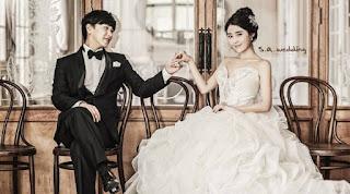 Duh, Mesranya Sungmin SuJu Dan Istri Merayakan Ultah Pernikahan!