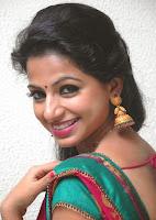 Akshara Menon Latest Glam pics in Saree HeyAndhra