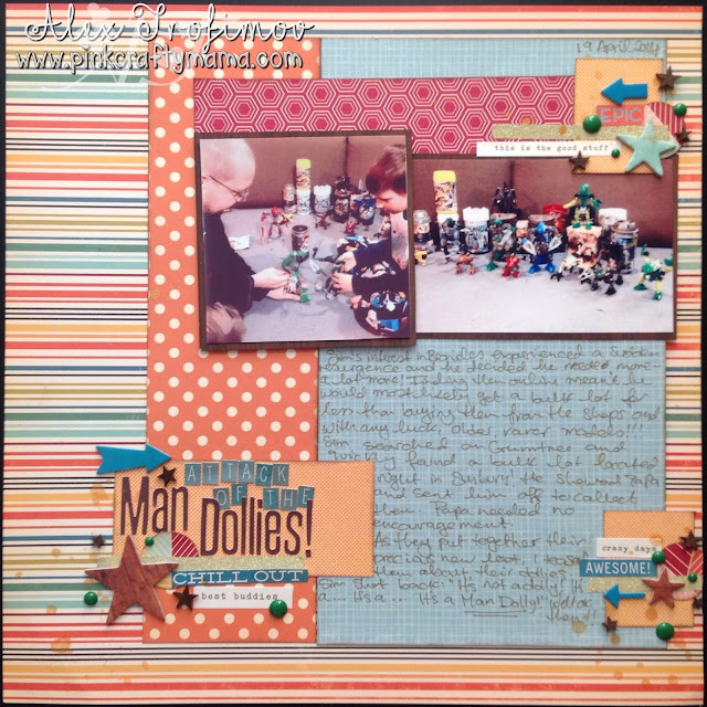 scrapbook scrapbooking layout page shimelle laine design decision class october afternoon starshine #designdecisionsclass