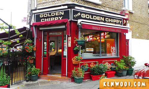 london golden chippy