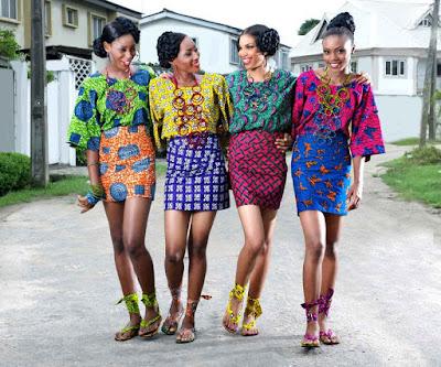 What makes ankara ankara?!  Is it the print or the fabric?