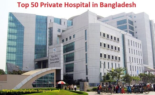 Private hospital list in Bangladesh