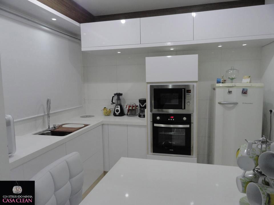 Construindo Minha Casa Clean Tour pela minha Cozinha!!! Móveis