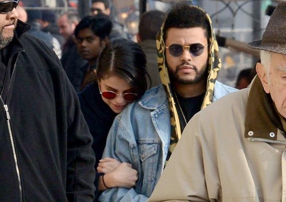2017-01-30 セレーナ・ゴメス(Selena Gomez)とザ・ウィークエンド(The Weeknd)ヴェネチア観光。