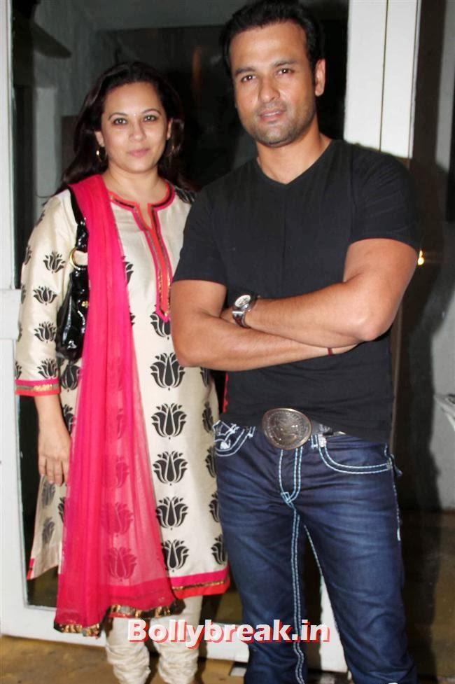 Rohit Roy, Anjana Sukhani at Supertraits of Superstars Book Launch