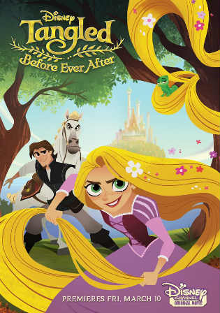 Tangled Before Ever After 2017 WEB-DL 180MB Hindi Dual Audio 480p Watch Online Free Download bolly4u
