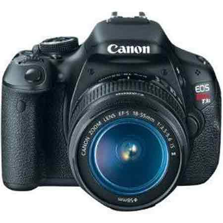 Canon EOS Rebel T3i 18.0 MP Digital SLR Camera with EF-S 18-55mm IS II Lens