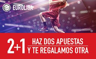 sportium Euroliga: Haz 2 apuestas y regalo una 29-30 marzo