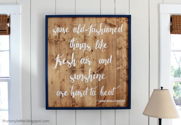 laura ingalls quote wall art