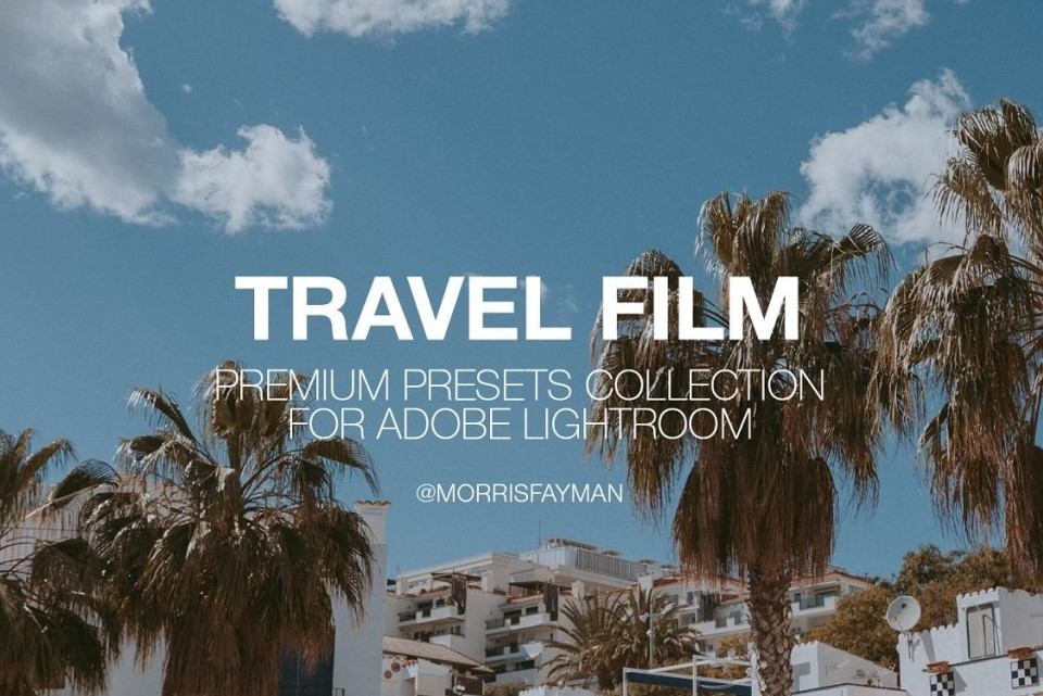 TRAVEL FILM presets for Lightroom